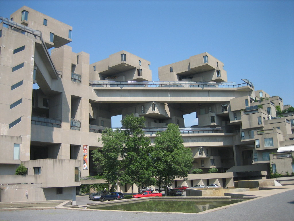 Man made it habitat 67 for Habitat 67 architecture