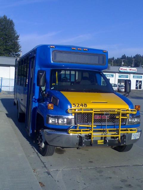 Community Shuttle at Port Moody Station