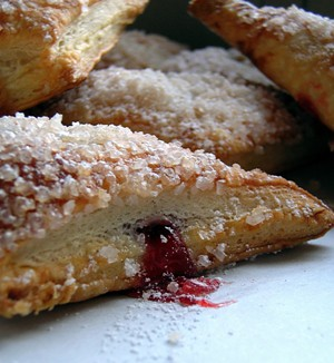Art of Pastry Week 2:  Cherry Turnovers