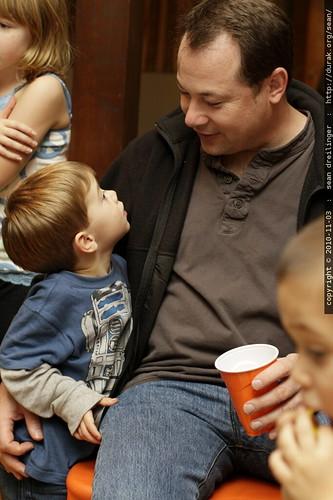 connor & his dad