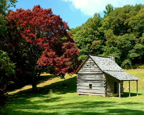 Old Cabin on the Blue Ridge Parkway
