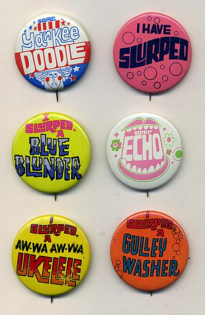 Slurpee Buttons