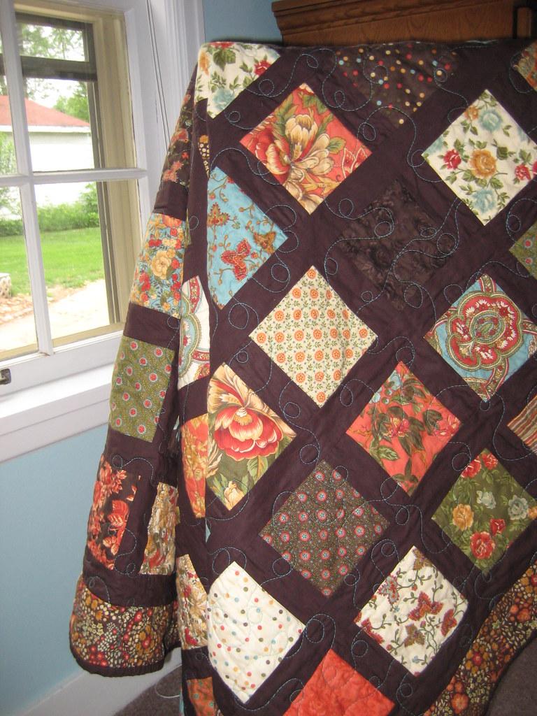 Sonnet lap quilt