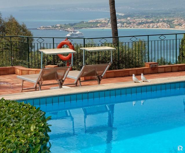 Taormina Hotel Villa Belvedere Pool Flickr Photo Sharing