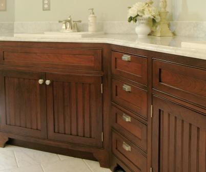 Cherry Beadboard Bathroom Flickr Photo Sharing