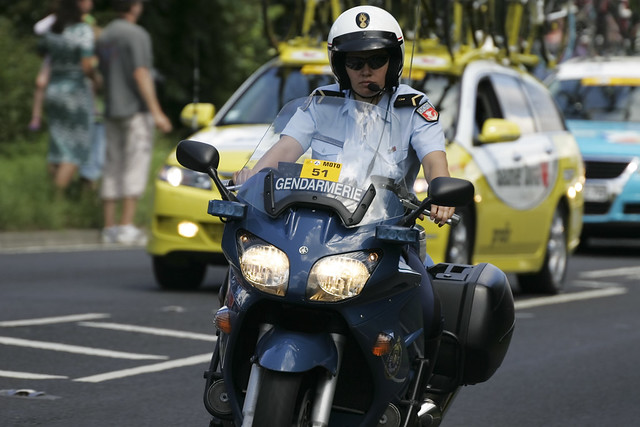 Mean Biker Babe | A female French Mounted Police officer ...