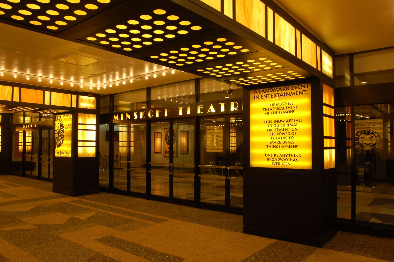 Minskoff theatre broadway flickr photo sharing for Broadway plan