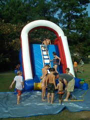 swimming pool(0.0), games(0.0), water park(0.0), camping(0.0), amusement park(0.0), play(1.0), recreation(1.0), leisure(1.0), inflatable(1.0), park(1.0),