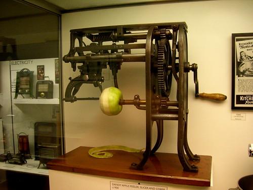 Peeling apples is a chore