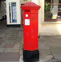 I went to see this Penfold postbox as recommended by Yercombe in September 2007! GL50 CHT00 in Cheltenham