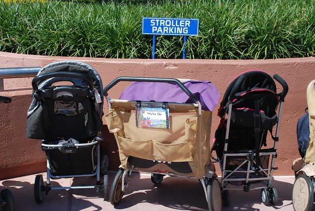 To Rent or Not? Theme Park Stroller Rentals