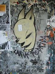 poster(0.0), modern art(0.0), art(1.0), street art(1.0), mural(1.0), graffiti(1.0), illustration(1.0), collage(1.0),