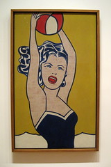 NYC - MoMA: Roy Lichtenstein's Girl with Ball