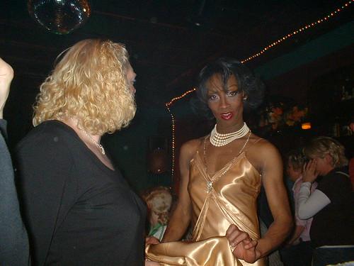 Travestie Shoh im Szene Lokal-Schwulen Und TravestK\xfcnstler 089