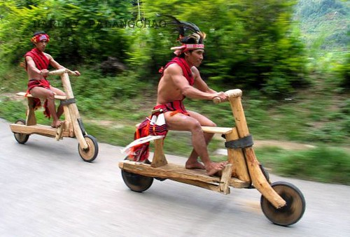 The big race. Naga Wooden Bike!!