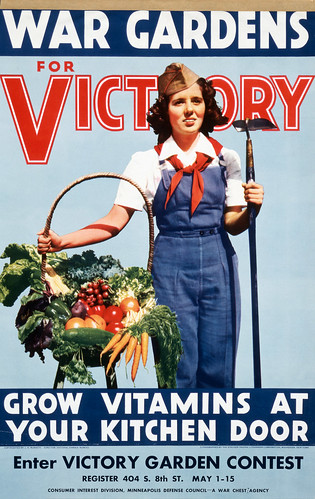 The Victory Garden Of Tomorrow Produce Propaganda For The