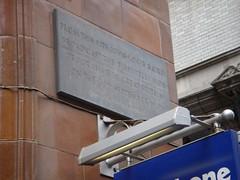 Photo of John Logie Baird grey plaque