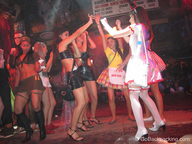 Halloween at Mango's Discoteca in Medellin