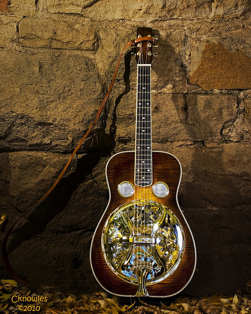 Photo:Clinesmith Dobro Guitar By The Knowles Gallery