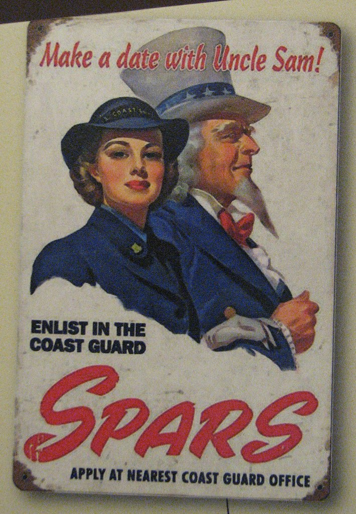 Coast guard spar vintage poster inquiry answer