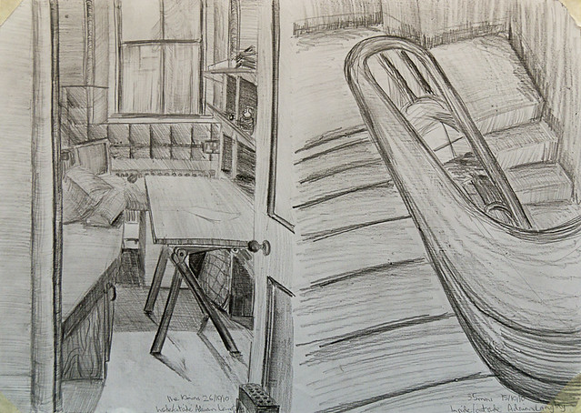 Inside outside pencil drawings flickr photo sharing for Inside and outside pictures