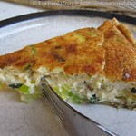 Lauch-Quiche mit dreierlei Käse