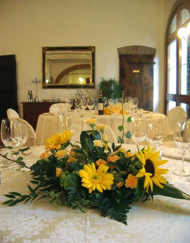 Tavolo Matrimonio Girasoli : Una tavola perfetta per il tuo matrimonio fioristailtulipano