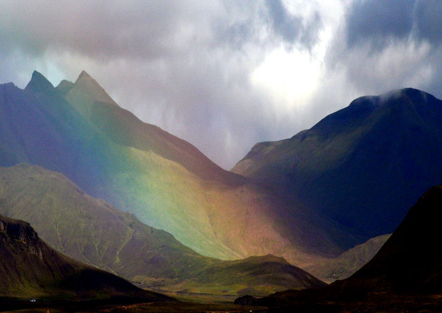Iceland: Rainbow Volcano by vicmontol, on Flickr