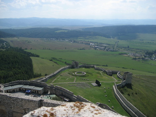 Eastern view from Spiš Castle