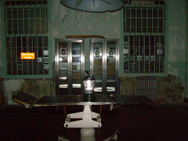 Alcatraz prison hospital