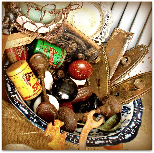 Ceramic, Embossed Metal, Glass, Even The Occasional Wood Door Knob. Let The  Hunt Begin!
