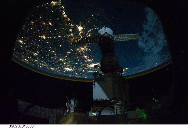 nasa night earth mexico - photo #15