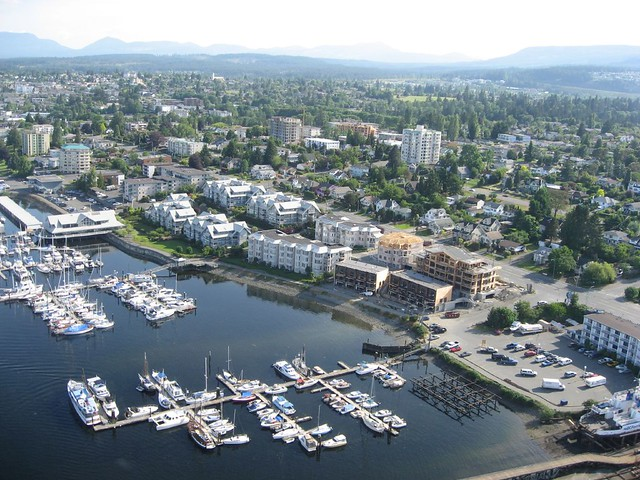 Harbour Air Float Plane (Downtown Vancouver to Downtown Nanaimo)