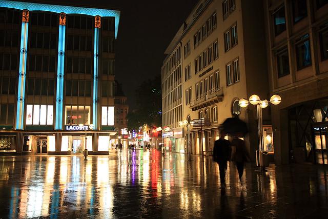 Hohestraße night