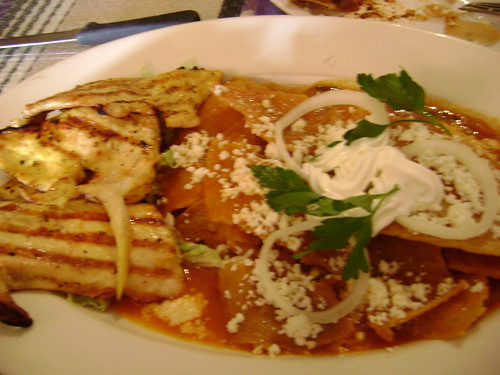 Chilaquiles at la Juquila (they made me cry)