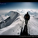 USA-Alaska-Denali-climber-on-summitridge