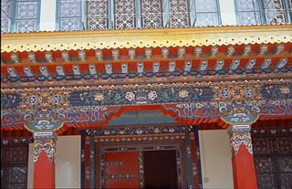 Tor tibetisches Kloster