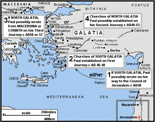 galatia dating Title galatians derives its title (pros galatas) from the region in asia minor (modern turkey) where the churches addressed were located it is the only one of paul's epistles specifically.