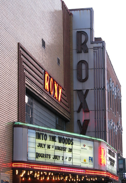 Roxy Theater at Dusk - Clarksville, TN