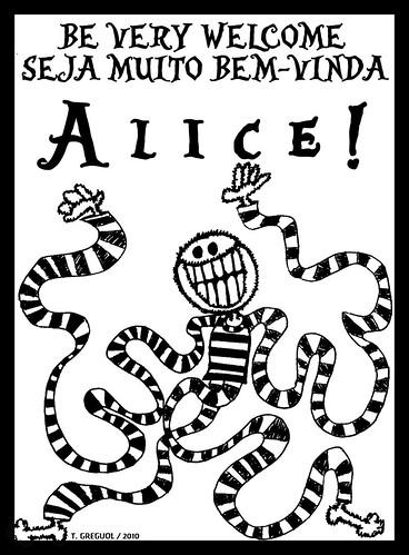 ... Alice! by O que dizem os monstros