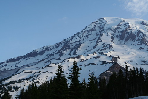 Mount Rainier in the morning