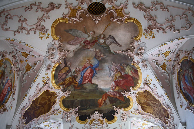 Church Sts Peter and Paul, ceiling