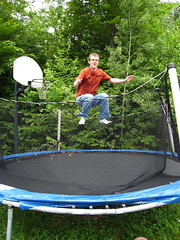 trampolining--equipment and supplies, leisure, net, trampoline, trampolining,