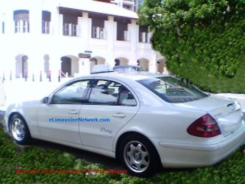 Singapore e class mercedes benz limousine taxi flickr for Mercedes benz singapore