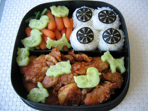 Bento for picnic - Top layer