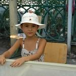 Cute Girl with a Hat - Nukus, Uzbekistan