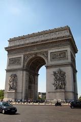 Paris: Arc de Triomphe de l'Étoile (east)