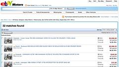 eBay Motors UI Update