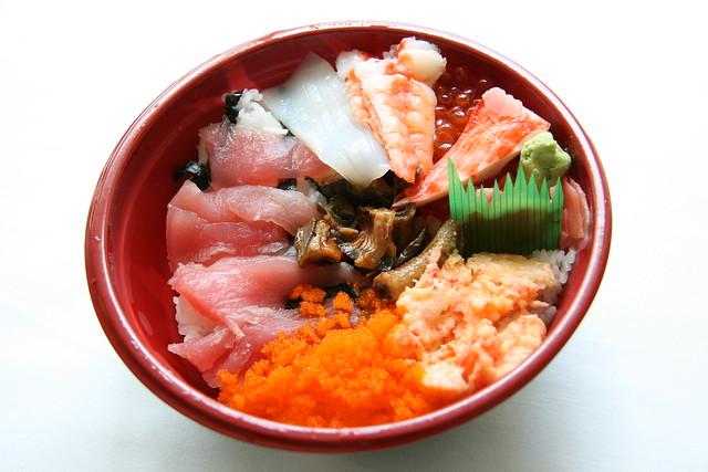 mitsuwa sushi rice bowl