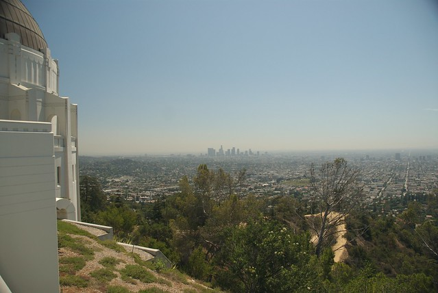 Griffith Park Downtown Vista from the Observatory